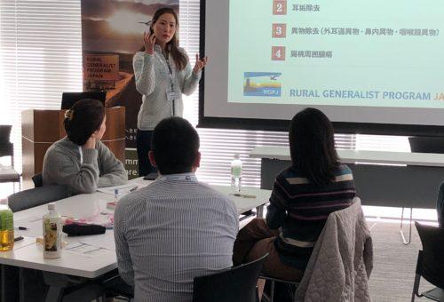 田辺先生による耳鼻科の講義